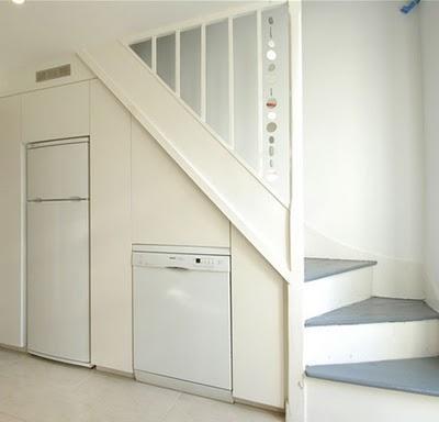 Electrodomésticos en el hueco de la escalera - Paperblog