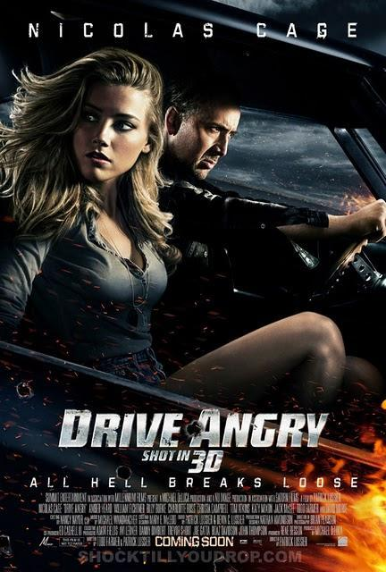 Drive Angry 3D: nuevo poster y trailer