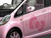 Auto Hello Kitty Mitsubishi