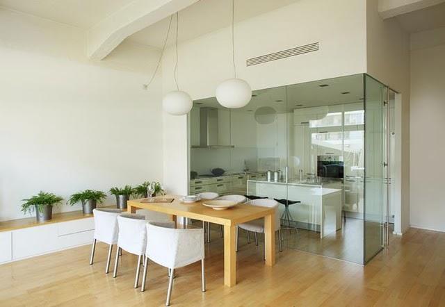 Cocina y comedor con estilo paperblog for Separacion entre cocina y comedor