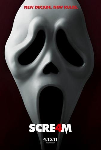 "Cartel y Teaser Trailer de ""Scream 4″"
