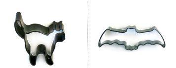 cortadores moldes para galletas de halloween