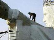 Polonia inaugura estatua Dios grande mundo