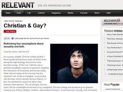 Fe cristiana y sexo