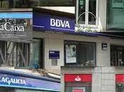 Guerra clientela bancos cajas cuenta nomina
