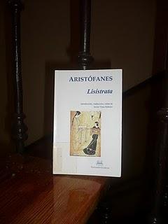 Lisístrata de Aristófanes; Premio y Libros de miedo
