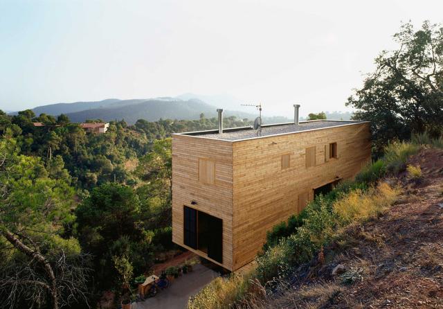 Lignum facile arquitectura y madera paperblog for Arquitectura de madera