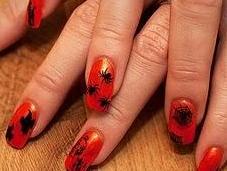 Decoración uñas para halloween