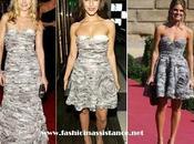 Amaia Salamanca coincide Kristen Bell Jessica Lowndes vestido Diane Furstenberg. ¿Quién gusta más?
