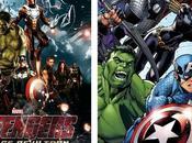 diferencias Vengadores cine comic