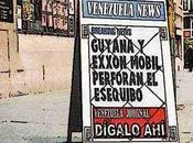 Tensión: ExxonMobil, Guyana, Esequibo Venezuela