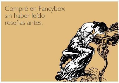 Nunca compres en Fancybox