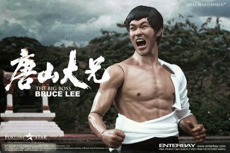 Bruce Lee Figura Real Masterpiece 1/6 The Big Boss 30 cm