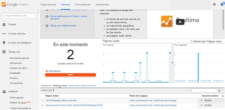 Cómo instalar Google Analytics en blogger
