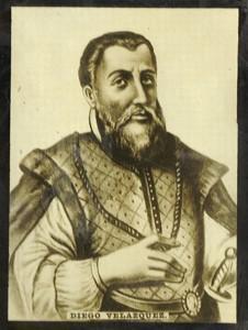 Diego Velázquez de Cuéllar, el líder de los colonizadores españoles.