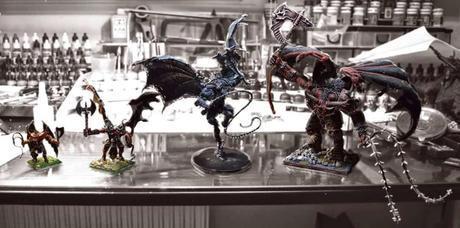 Comparativa de tamaños entre Devoradores de Almas y Skarr Bloodwrath