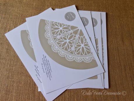 Diy conos de papel paperblog - Hacer conos papel ...