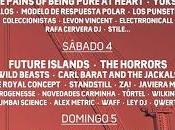 Distribución días Fest 2015