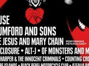 LIVE 2015: Black Rebel Motorcycle Club entre seis nuevos nombres cartel
