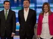 Debate electoral Andalucía: lluvia votos para Podemos Ciudadanos