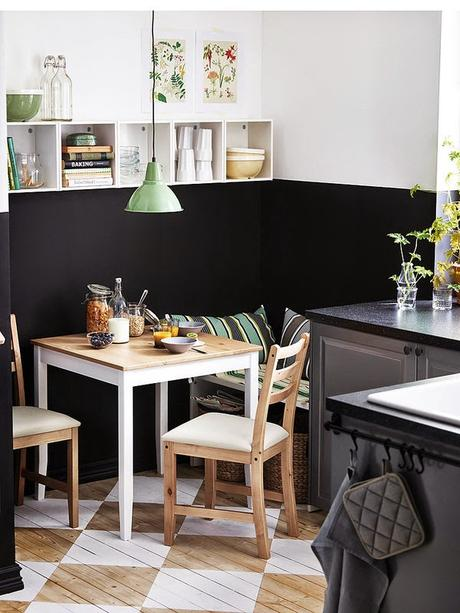 Ideas deco c mo tener un office en una cocina peque a paperblog - Cocinas office pequenas ...