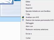 Como editar menú contextual Windows
