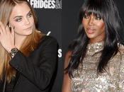 Cara Delevingne Naomi Campbell pelean Rihanna