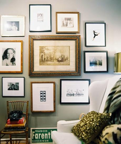 Paredes composici n de cuadros atrevidas paperblog - Composicion cuadros pared ...