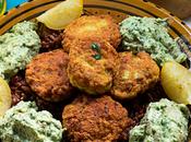 Kebabs pescado berenjena asada {Rústica Botas}
