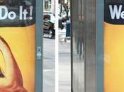 mujeres desaparecen publicidad calles Nueva York Mujer