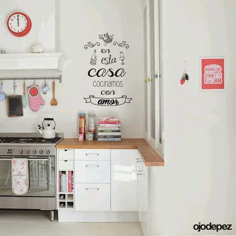 Small lowcost decora la cocina con vinilos paperblog - Todo para tu cocina ...