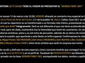 """""""deniro fan´s day"""" concierto electroacustico invitados especiales sala perro puerta atras coche""""/// jueves marzo, 22:00 horas"""