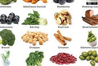 Alimentos vegetales ricos en calcio paperblog - Hierro alimentos que lo contienen ...