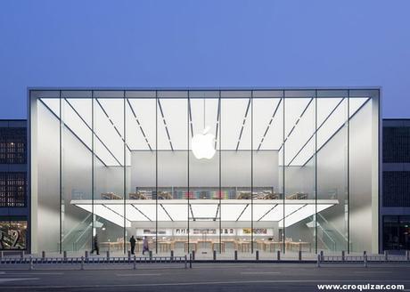 NOT 7 -Foster + Partners, tienda Apple en Hangzhou (China)-1