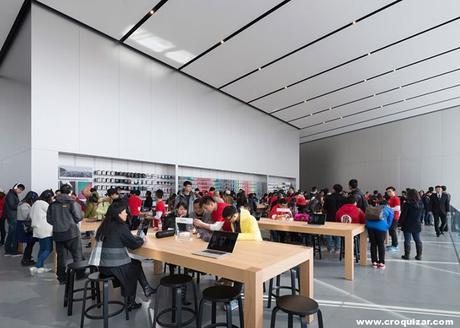 NOT 7 -Foster + Partners, tienda Apple en Hangzhou (China)-4