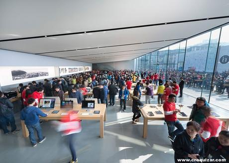 NOT 7 -Foster + Partners, tienda Apple en Hangzhou (China)-5