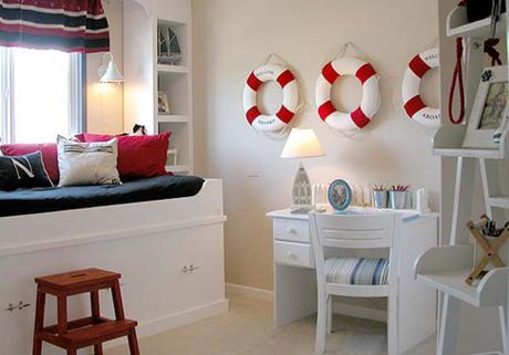 decoraci n estilo navy paperblog On decoracion naval