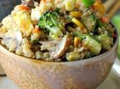 Salteado Quinoa Verduras
