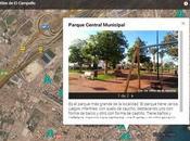 Campello niños: Plano parques zonas juegos infantiles