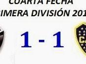 Colón:1 Boca Juniors:1 (Fecha