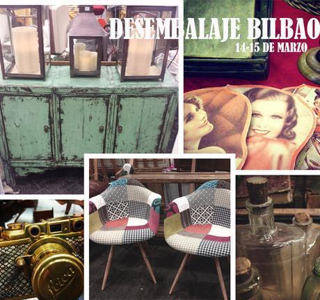 Desembalaje Bilbao, y las piezas vintage