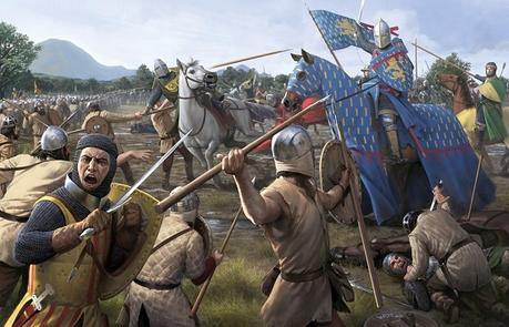 141133__art-battle-battlefield-war-weapons-sword-spear-horse-horse-dead-the-middle-ages_p