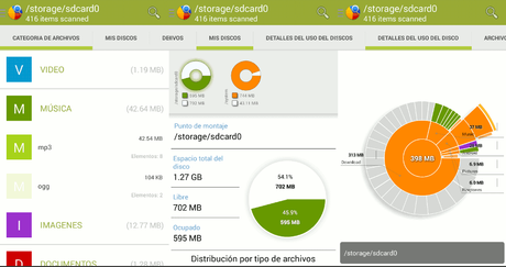 Disk Usage Analyzer for Android
