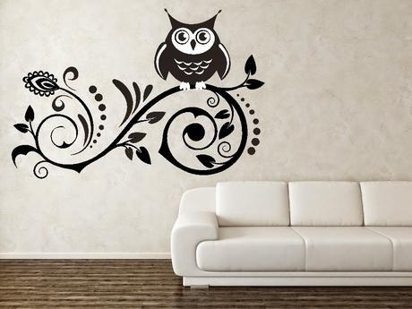 Vinilos de pared para decorar tu hogar paperblog - Vinilos para decorar paredes ...