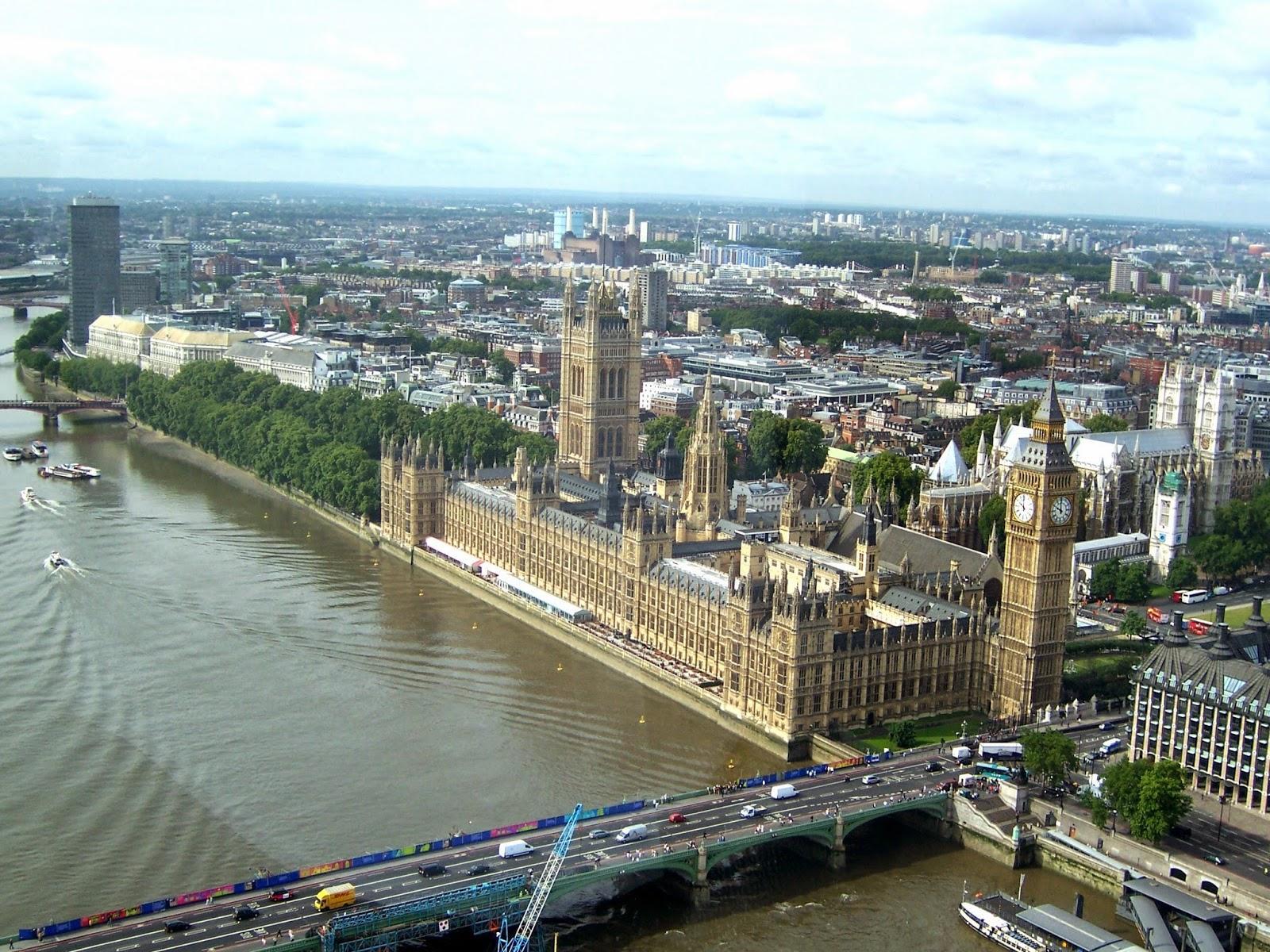 Visita  al Parlamento de Londres