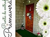 #diariodecospring: puerta entrada primavera