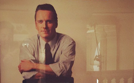 Primer Vistazo De Michael Fassbender Como Steve Jobs
