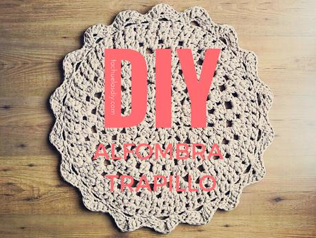 C mo hacer una alfombra de trapillo redonda f cil patr n gratis paperblog - Como hacer alfombras de trapillo trenzadas ...