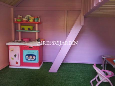 Fotograf as casita de madera tom instalada por unos - Casas de madera cadiz ...