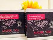 Probando Cosmética Matarrania: Embellecedora reafirmante cuello escote, Reparadora manos uñas.
